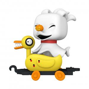 Zero in Duck Cart POP! figura - Nightmare before Christmas - Disney Train Cart 10 -