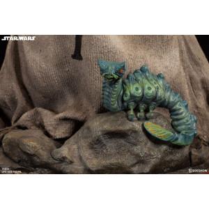 Yoda életnagyságú szobor - Star Wars -