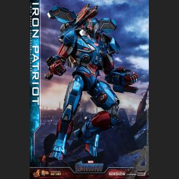 Iron Patriot Sixth Scale Figure - DIECAST Version - Avenger: Endgame - Movie Masterpiece Series -