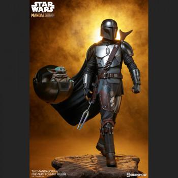 The Mandalorian Premium Format Figure - Star Wars - Sideshow Collectibles -