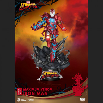 Iron Man PVC diorama - Maximum Venom - D-Stage -