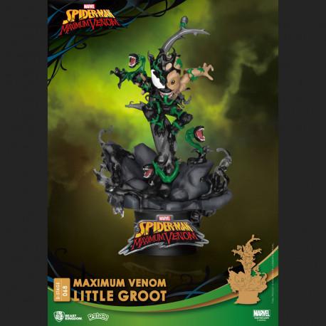 Little Groot PVC diorama - Maximum Venom - D-Stage -