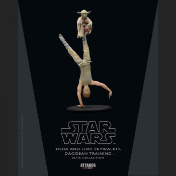 Yoda & Luke Skywalker...