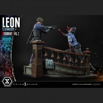Leon S Kennedy statue - Resident Evil 2 - Ultimate Premium Masterline -