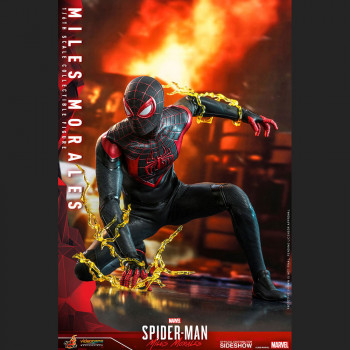Miles Morales Sixth Scale Figure - Hot Toys - Video Game Masterpiece Series -