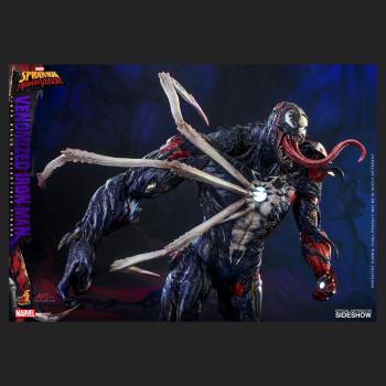 Venomized Iron Man Sixth Scale Figure - Marvel Spider Man: Maximum Venom - Artist Collection -