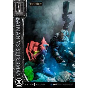 Batman vs Superman szobor - Deluxe bonus verzió - The Dark Knight III The Master Race - Ulitmate Diorama Masterline -