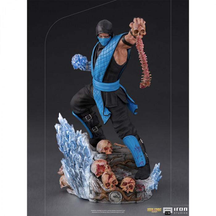 Sub-Zero Art Scale Szobor - Mortal Kombat -