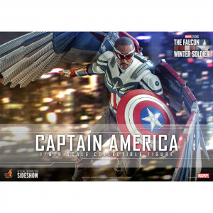 Captain America Sixth Scale Akciófigura - The Falcon and the Winter Soldier - Television Masterpiece Series -