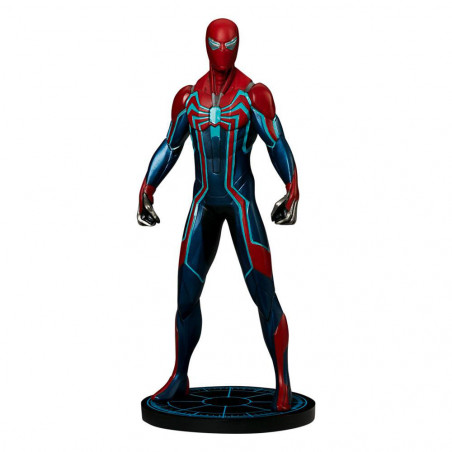 Spider-Man Velocity Suit szobor - Marvel's Spider-Man - Marvel Armory Collection -