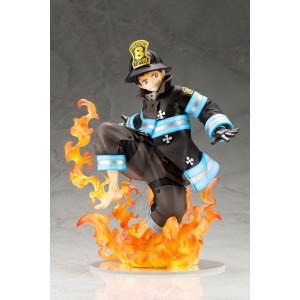 Shinra Kusakabe ARTFX J PVC szobor - Fire Force -