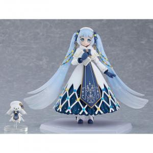Snow Miku: Glowing Snow Ver. Figma figura - Vocaloid Vocal Series 01 -